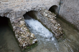 l'acqua fuoriesce dopo aver azionato la seconda macina